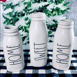 Rae Dunn Milk Bottle Bud Vases